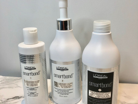 L'Oreal Smartbond- a bond strengthening system for all colour and bleach services