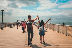 Maya & Alexis   Coney Island Boardwalk