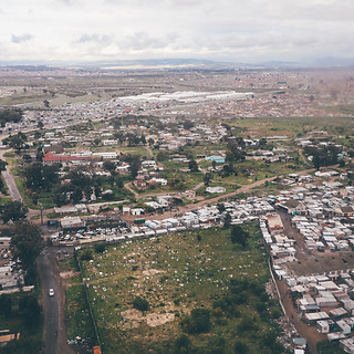 Cape Town's informal settlements from above