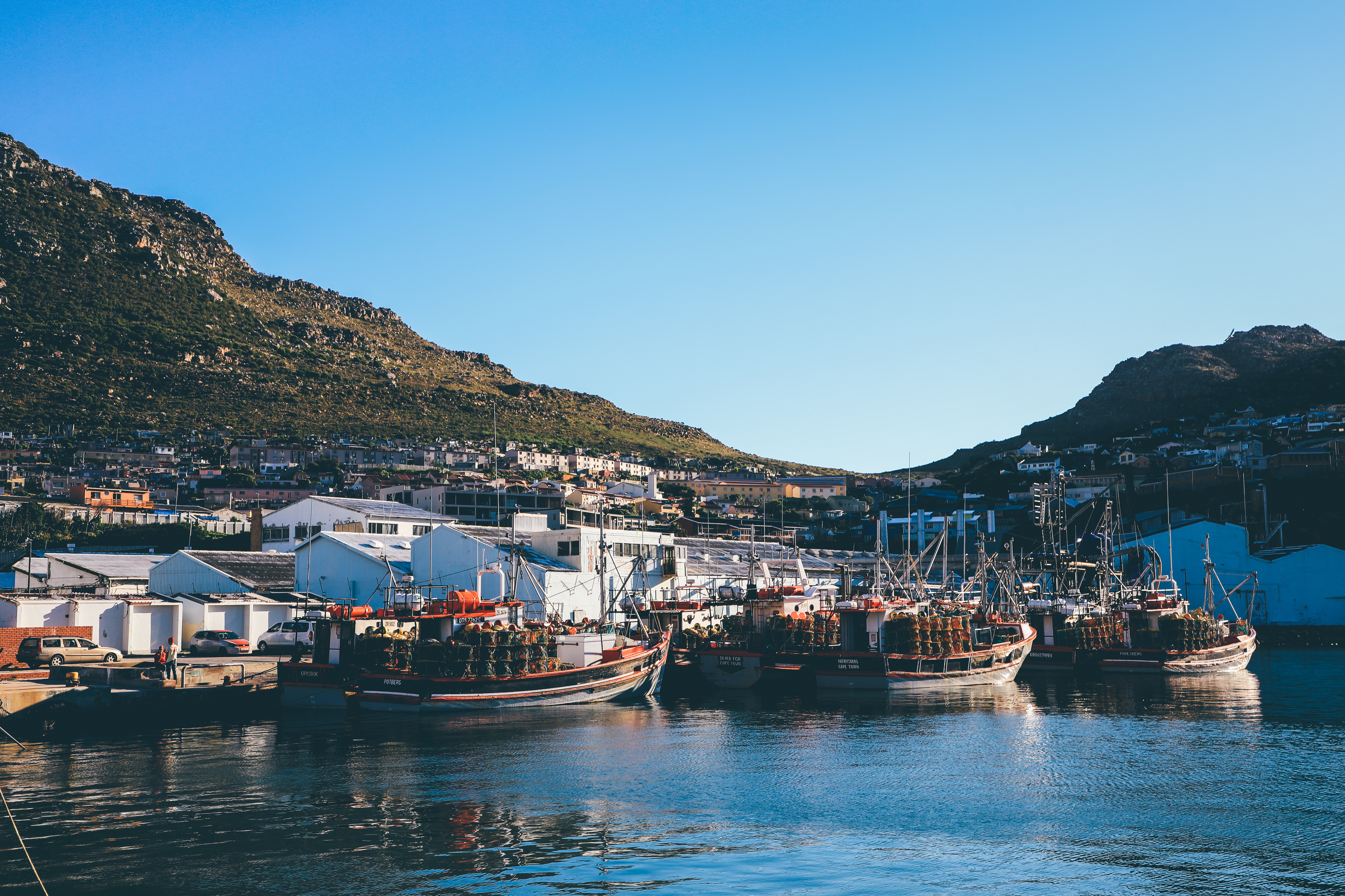 Hout Bay Harbour, Cape Town