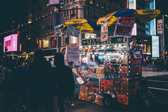 Food Cart, Times Square