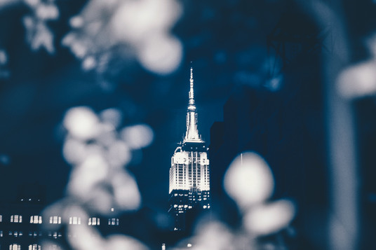 Empire State Peek-a-boo.