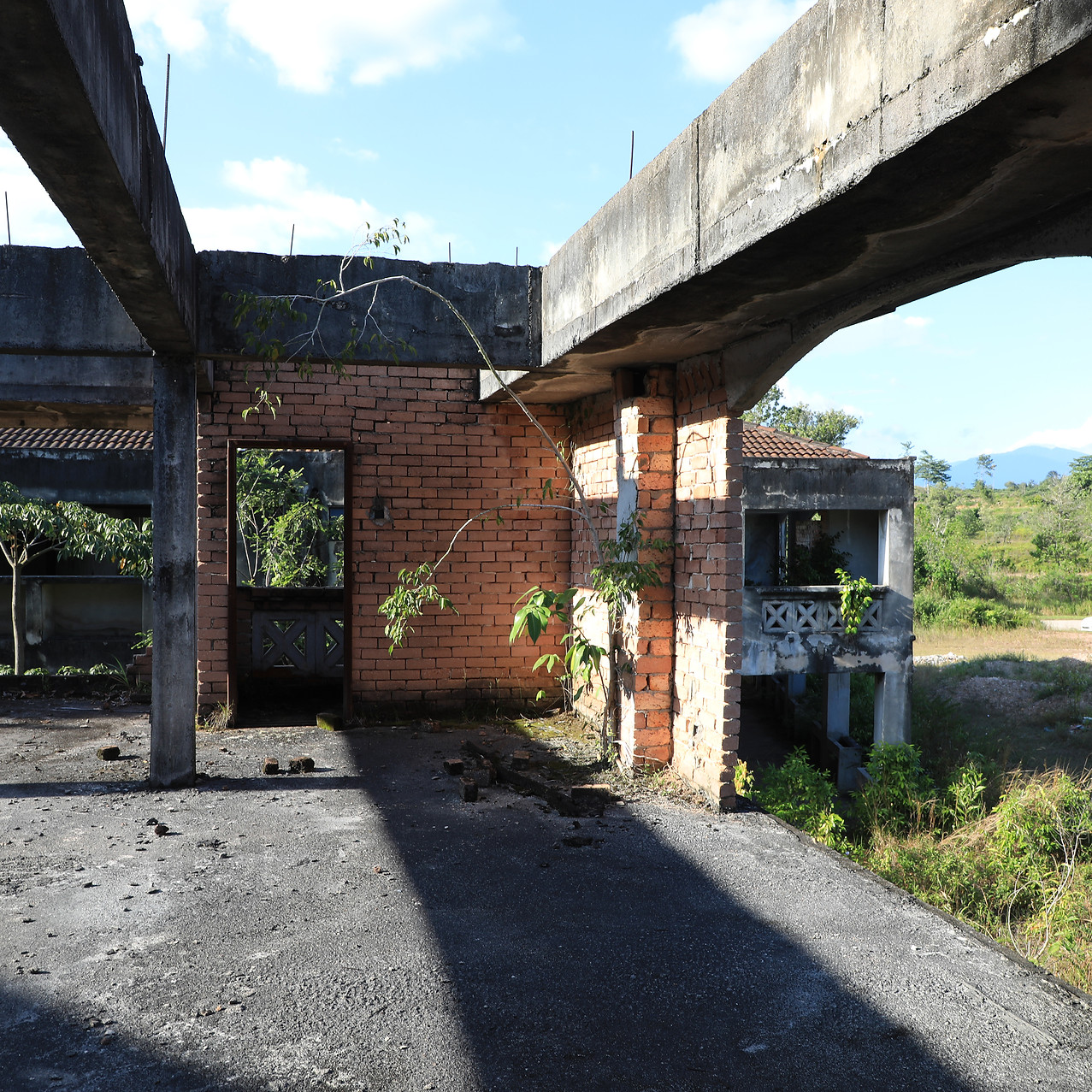 Derelict housing project, Hulu Selangor, Malaysia