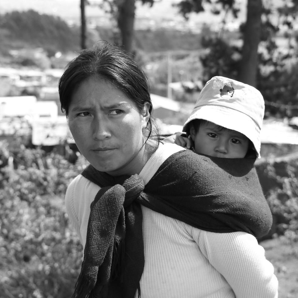 Community member, Quito