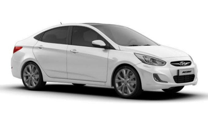 Hyundai accent 2015 год (дизель автомат)