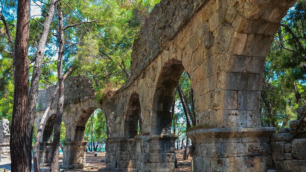 Фаселис - античность на самом берегу моря