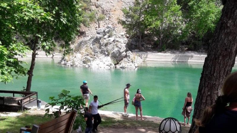 Рыбалка и пикник в «Canyon parke»