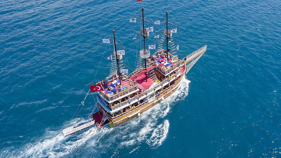 Путешествие на корабле по реке Манавгат