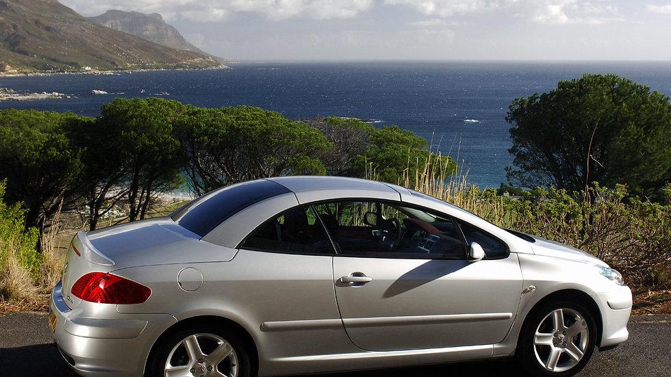 Peugeot 307 cabrio 2007 год (бензин автаомат)