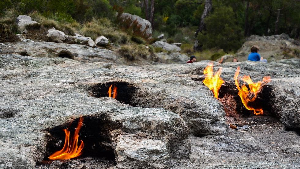 Гора янарташ - мифическая гора Химера