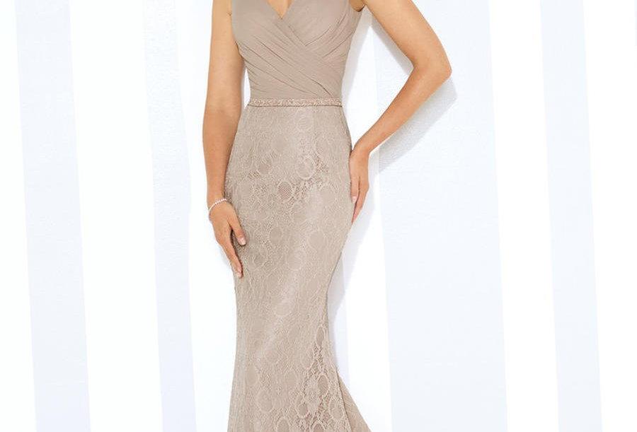 Lace & Chiffon Dress