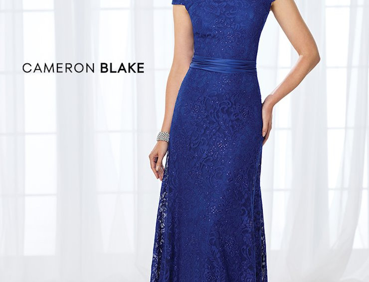 Off-Shoulder Lace Gown