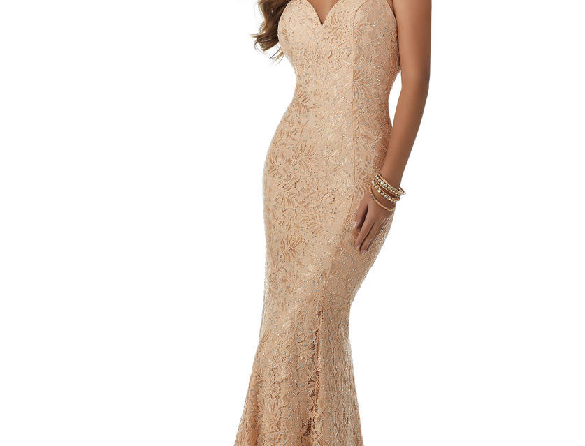 All-Over Lace Gown