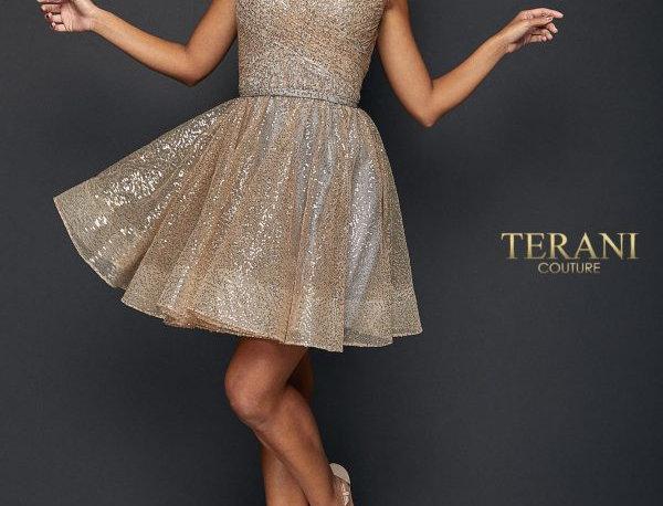 Spaghetti Straps Flairy Skirt Dress