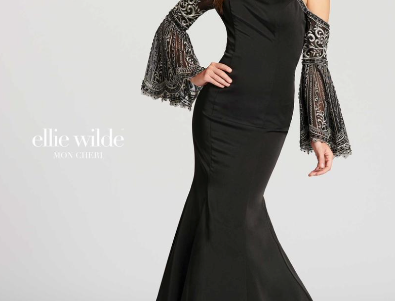 Bell Sleeves Gown