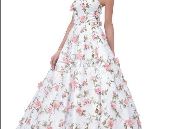 Floral Ballgown
