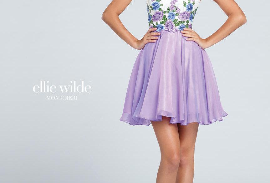 Chiffon Short A-Line Dress