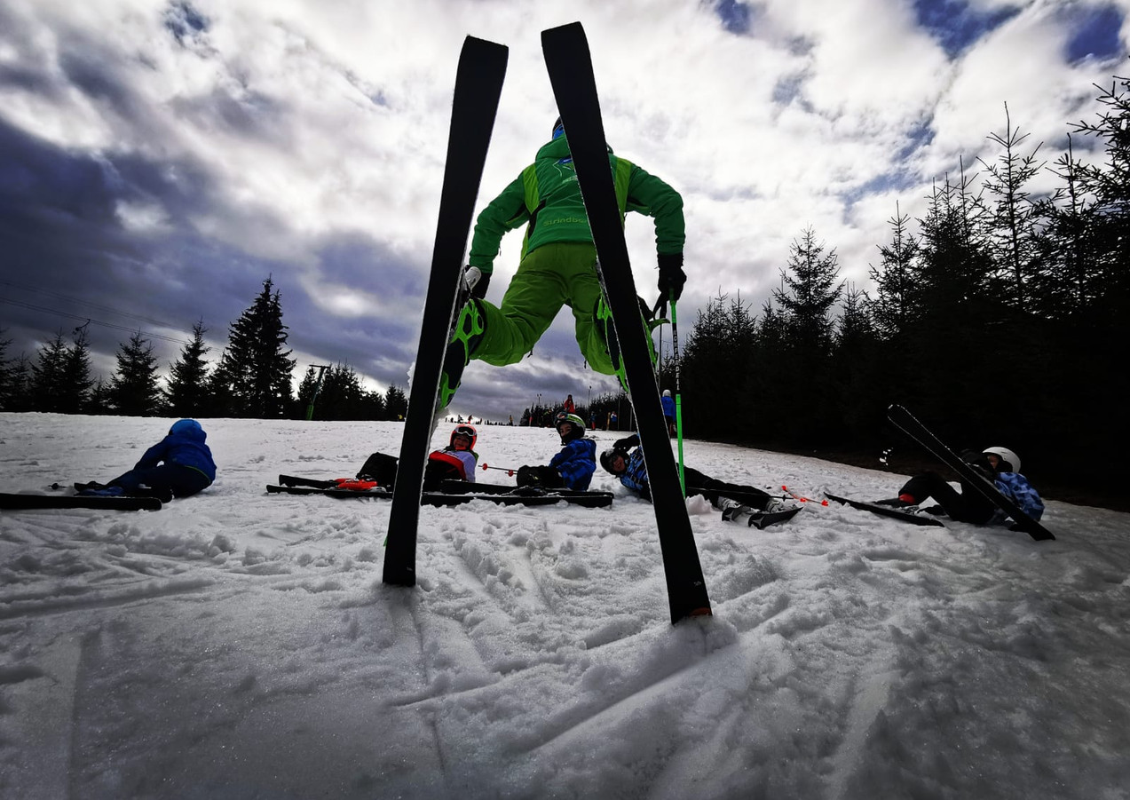 Monitor ski partia Toplita