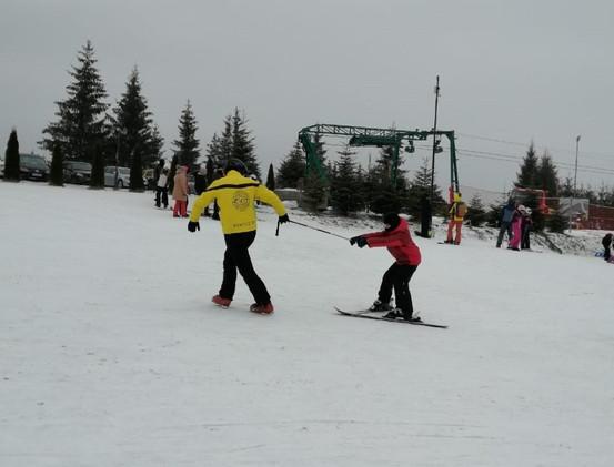 Lectii de schi Toplita