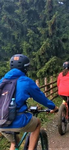 Tur e-bike la Fundata - Fundatica dificultate usoara