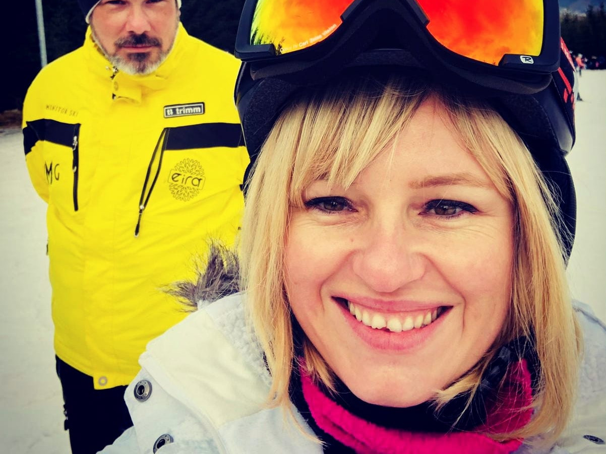 Instructor ski partia Toplita