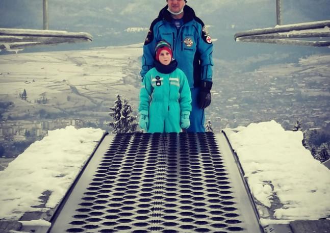ski intructor partia Toplita