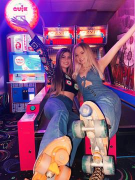 Roller Rink Sisterhood