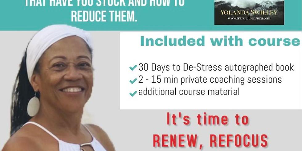 30 Days To De-Stress - 2 Day Workshop