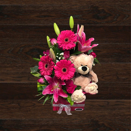 Pink Love With Teddy