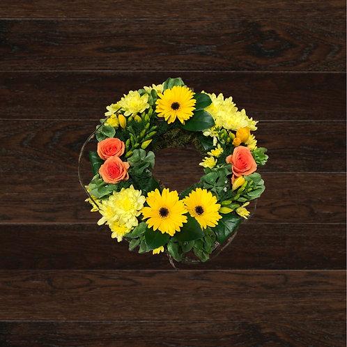 Modern Bright Wreath