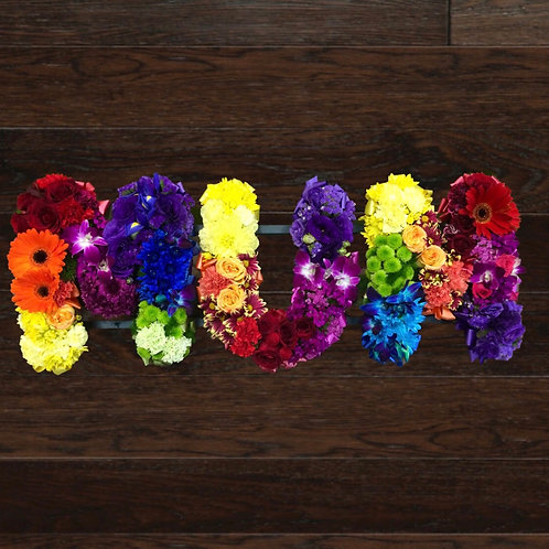 """""""MUM"""" Floral Tribute - Please allow 3-4 days pre-order"""