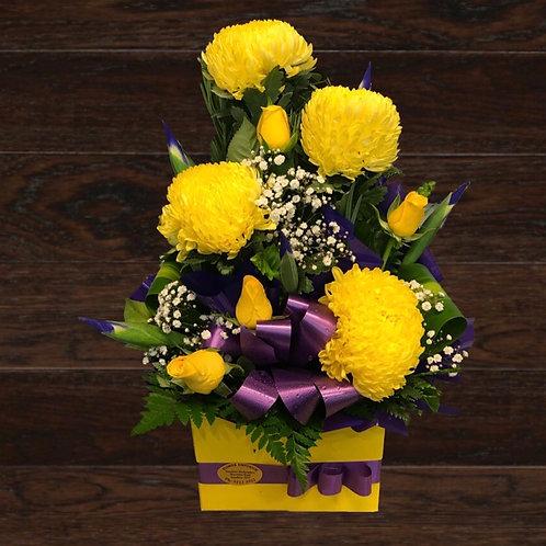 Bright Yellow Disbuds