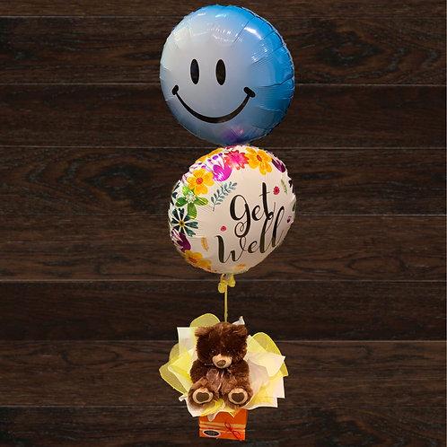 Teddy & Balloons Gift
