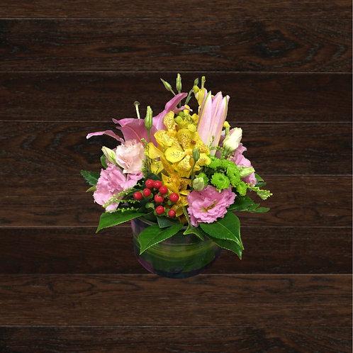 Grouped Vase