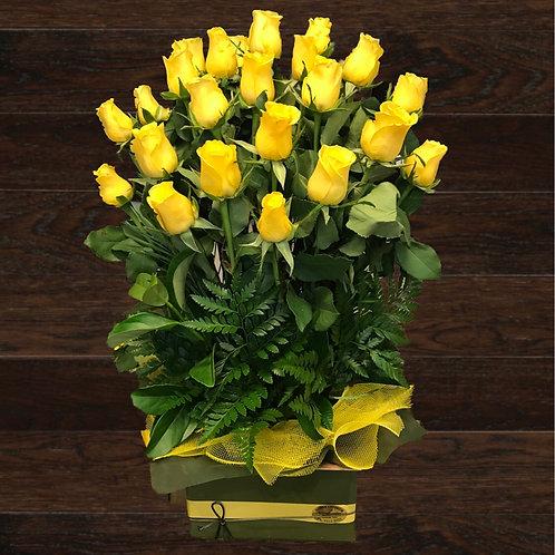 24 Roses In A Box (4 days pre-order req'd)