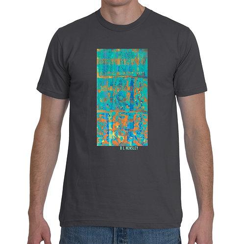 Teal Abstract T-Shirt