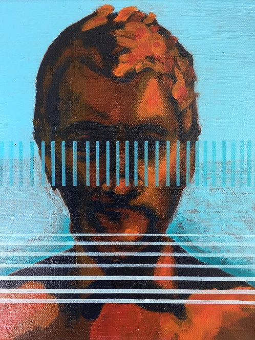 "Cyrus Harris Pinstriped 8""x10"" Print"