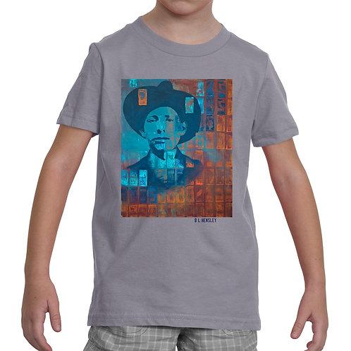 Young Chickasaw Man Little Kids T-Shirt