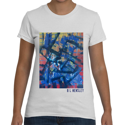 Abstract Ladies T-Shirt