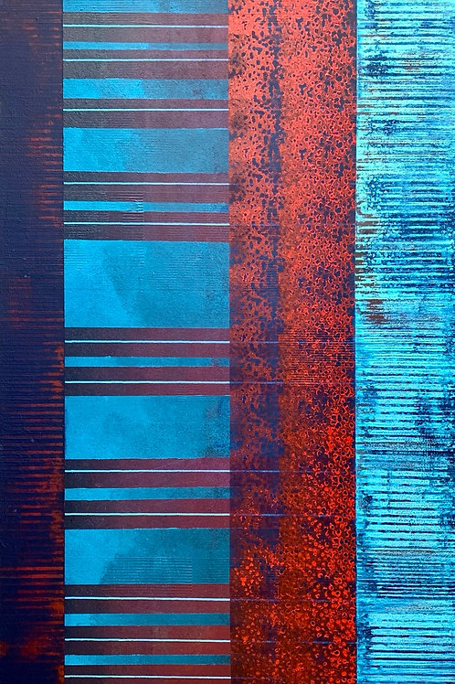 """End of the Road 40""""x30"""""""