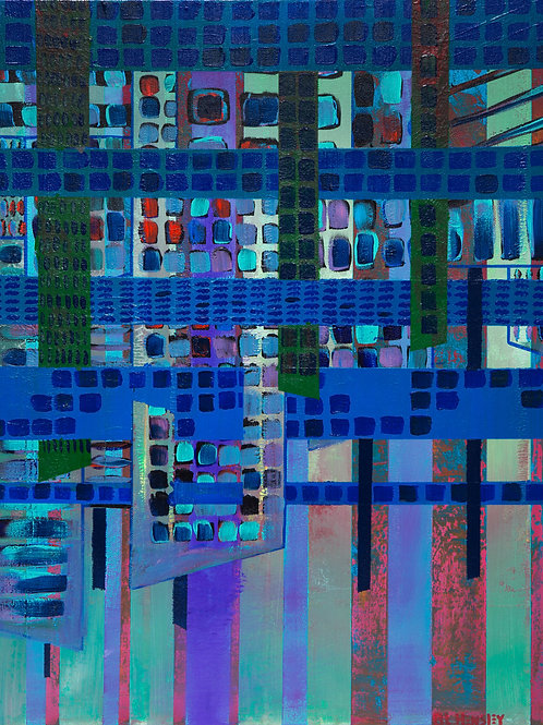"City Segmentation 16""x24"" Print"
