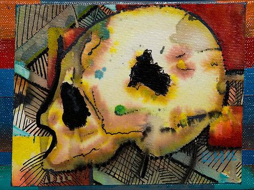 """Skull 8""""x10"""" Print"""