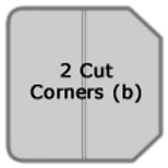 2 Cut Corners (b fold)