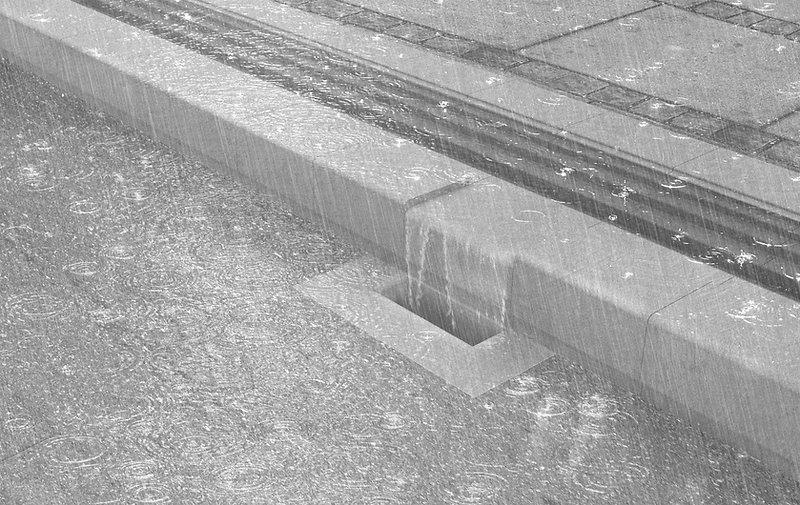 architecture water regnvandshåndtering fortov løsning