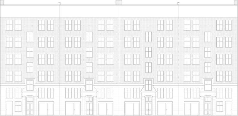 facade renovering trappeopgang nørrebro