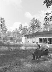 forest village architecture urben plan sustainability thi og dencker arkitekter