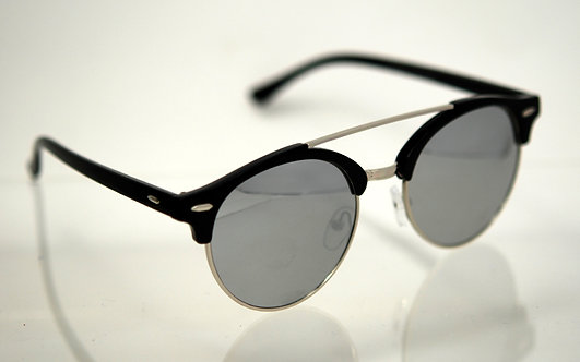 Rounded Lens Vintage Sunglasses