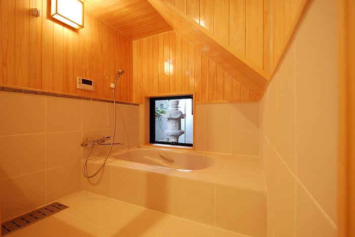 木の香りのお風呂 在来浴槽