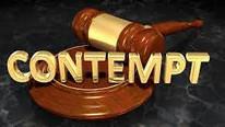 Contempt of Court : An Eternal Battle
