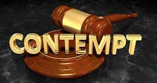 Contempt of Court : An Eternal Battle